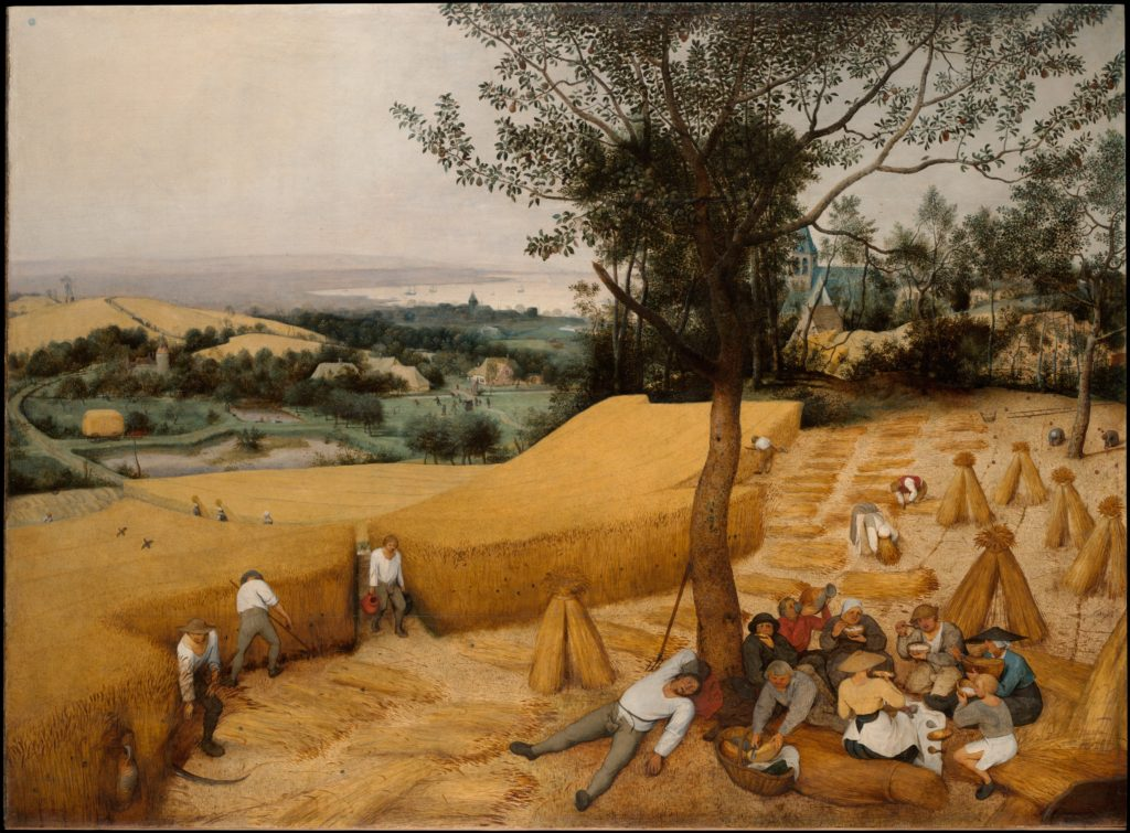 The Harvesters by Pieter Bruegel the Elder (Metropolitan Museum)